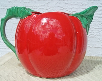 SALE!  1988 Dept. 56 Hot Tomato Pitcher