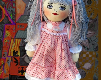 Doll rag doll / home decor / toy / games
