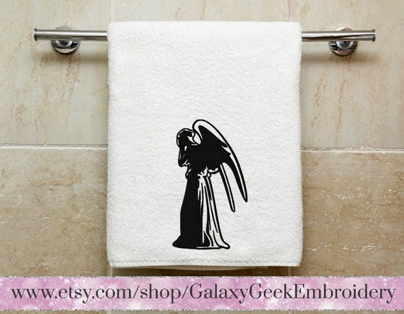 Doctor Who Embroidery Design Dr Who Embroidery Weeping Angel