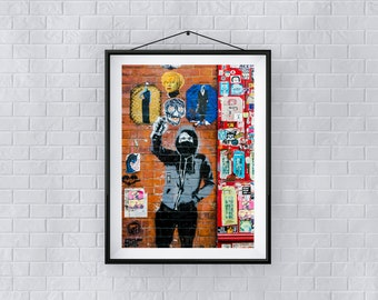 Andy - Premium Quality – Wall Art - Giclée Print – Urban Art - Martin Sylvester - Sylvo81
