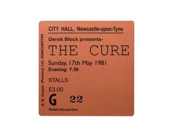 Coaster. The Cure. Newcastle City Hall. Newcastle