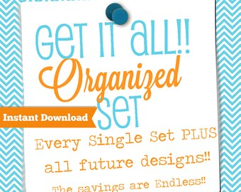 INSTANT DOWNLOAD-Get It All Home Binder Mega Pack-Every Single Set in my store