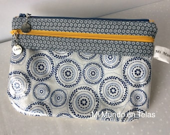 Pouch with Vinyl Pocket-Bag