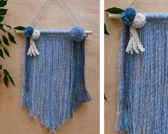 Wool wall weaving #5