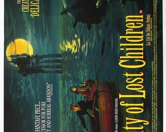 Spring Sales Event: The CITY Of LOST CHILDREN Movie Poster 1995 Ron Perlman