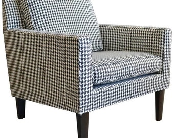 Houndstooth Lounge Chair by Edward Wormley for Dunbar, ca. 1970
