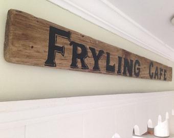 Custom Last name Sign on reclaimed wood, Reclaimed wood sign, Reclaimed wood name Sign, Last Name Sign