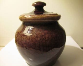 Pisquah Forest Pottery Jar