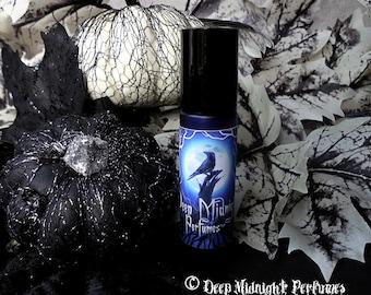 PUMPKIN GLOOM Perfume Oil - Pumpkin, Moss, Fog, Spices, Soil, Decayed Fruit - Halloween Perfume- Fall Fragrance