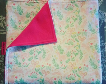 Pink Unicorn Baby Blanket, Pram Blanket, Buggy Blanket, Handmade blankets, Baby Gifts, Unicorn Blanket
