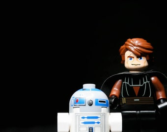 ANAKIN AND R2D2 - Photograph - Various Sizes