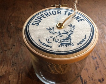 Blue Stag String Dispenser with Twine