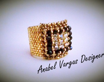 BEADING TUTORIAL RING (English)