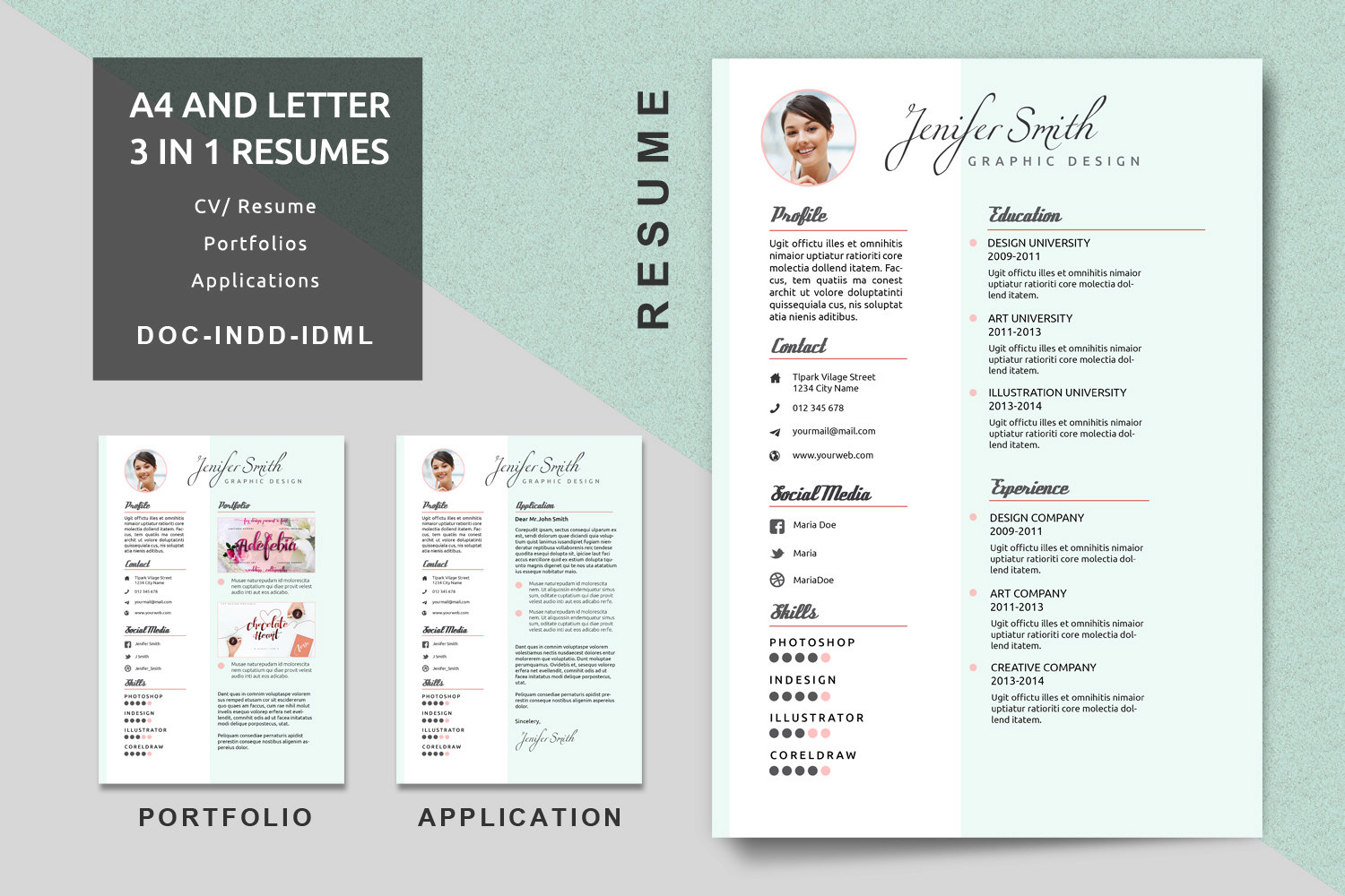 Superb 🔎zoom Regarding Resume Portfolio Template