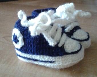 Newborn Crochet Shoes
