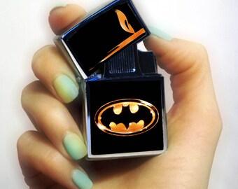 LIGHTER Batman lighter, Personalized Lighter, Batman fan lighter, superhero lighter, vintage lighter, pipe