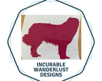 Great Pyrenees Decal 2