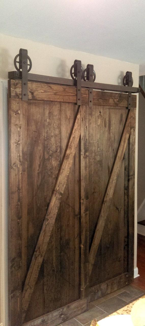Gentil Bypass Vintage Spoked Sliding Barn Door Closet Hardware From TheWhiteShanty  On Etsy Studio