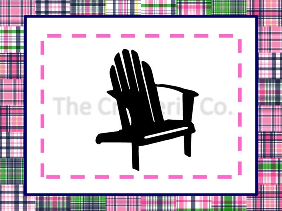 Adirondack Chair PNG + SVG Files   Commercial U0026 Personal Use   Vector Art  SVG, Cricut, Silhouette, Vinyl Cut, Word Art From TheCreaterieCompany On  Etsy ...