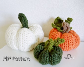 Pumpkin Patch - PDF Amigurumi Crochet pattern