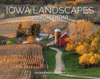 2018 Iowa Landscapes annual photography calendar