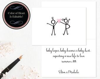 Printable Pregnancy Announcements, Pregnancy Cards, Pregnancy Announcements, DIY Pregnancy Cards, Printable PDF Pregnancy Cards #NPPB21