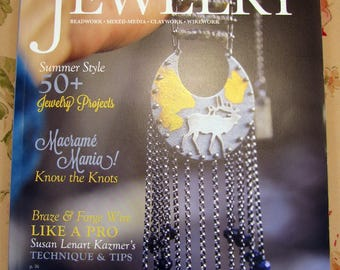 20% OFF Stampington Belle Armoire Jewelry + Art to Wear Magazines - LIKE NEW!!!