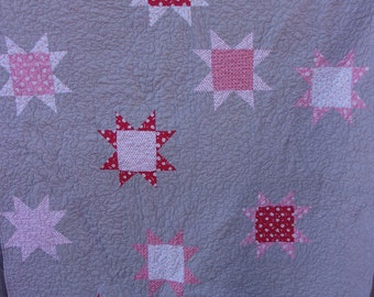 Oh My Stars Twin Patchwork Quilt