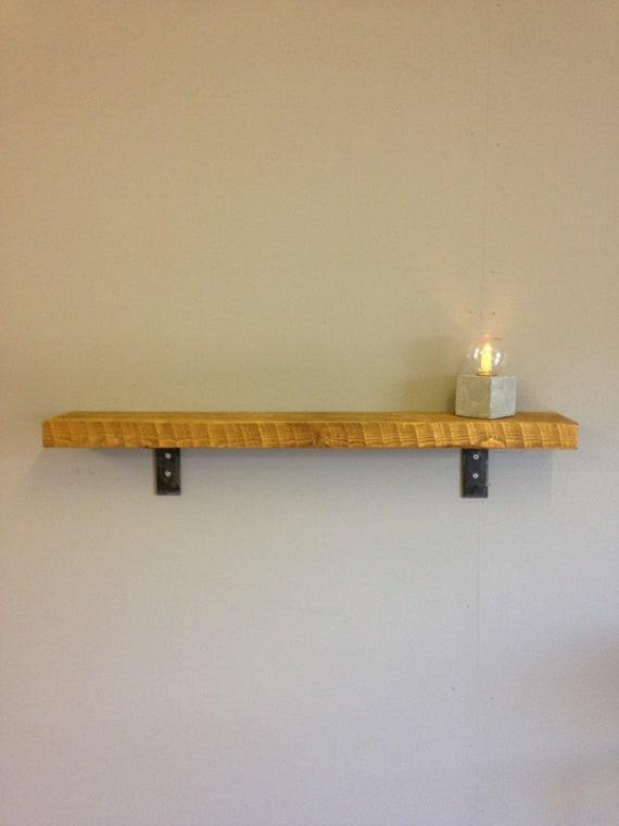 Estantes rústicos Industrial estante de madera Metal hecho