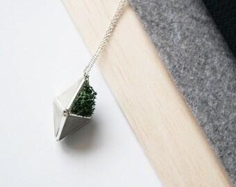 Triang Concrete Necklace