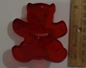 """Vintage HRM TEDDY BEAR Cookie Cutter 