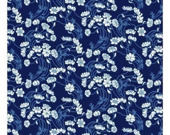 Liberty Art Fabrics  Liberty Stile Lowke Blue