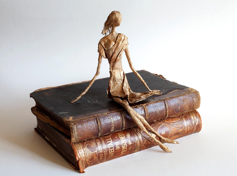 Papier Mache Kunst Drahtkunst Puppenkunst