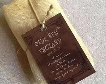 35 ct. count Old New England Linen Standard Cut The Primitive Hare cross stitch fabric