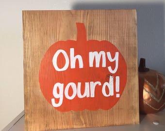 Autumn Decor//Oh My Gourd
