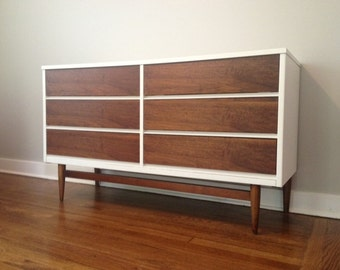 CUSTOM Refinished Mid Century Dressers