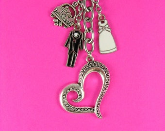 Marital Bliss Keychain