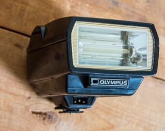 Olympus Quick Auto 310 Flash, Olympus 310 Flash, Olympus OM, Camera, Vintage, Electronics, Camera Gear, Film Camera, 35mm film, Photography