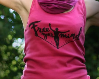 Free Your Mind with Slackline &  Yoga - Top for Girl