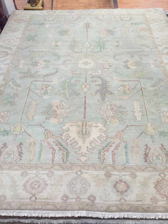 """8'4"""" x 10'4"""" Egyptian Oriental Rug - Hand Made - Antique Look - 100% Wool"""