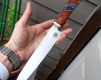 """9"""" chef knife out of O1 Steel"""