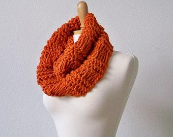 KNITTING PATTERN, Chunky Scarf Pattern, Chunky Knit Scarf Pattern, Knit Infinity Scarf Pattern Knit Cowl Scarf Pattern Cowl Knitting Pattern
