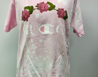 Baby Pank Roses Distressed Tee