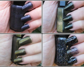 The Mythos Collection - Lovecraft Inspired Labracadabra Nail Polish