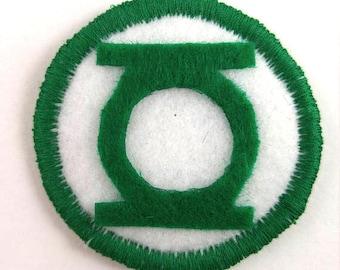 DC Comics The Green Lantern Logo  Badge Pin Button Patch
