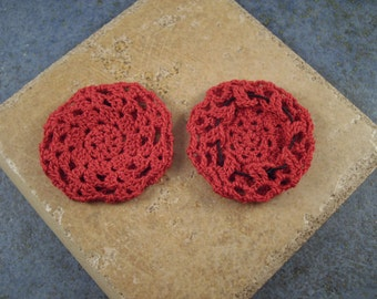 Extra Large Red Zill Covers or Mufflers - Set of 2