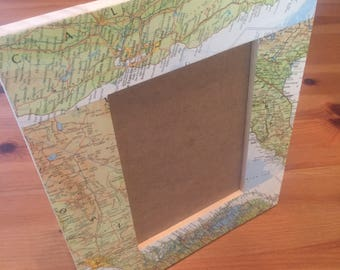 Personalized Map Frame