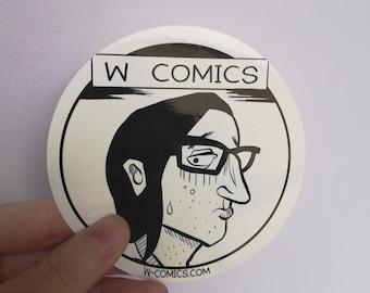 STICKER COMICS ROBBISCHE W.