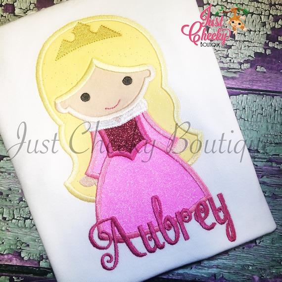 Princess Aurora - Sleeping Beauty Inspired Embroidered Shirt - Briar Rose - Disney Girls Shirt - Disney Princess Birthday Shirt