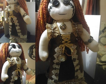 steampunk doll handmade
